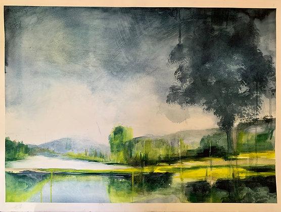 L'étang - Laurence Regnault