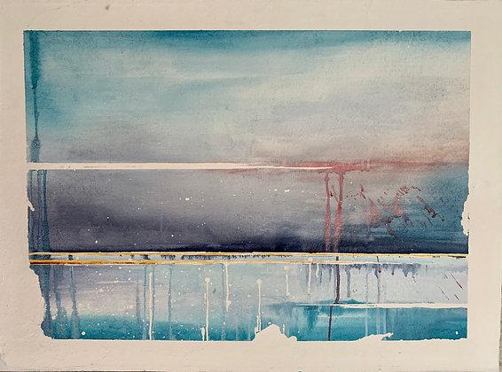 Entre ciel et mer - Laurence Regnault