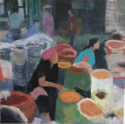 Marché Birman 3 - Michel Bideau