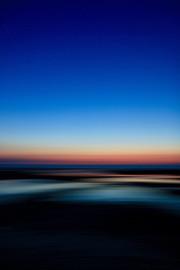 Melting sunset on Old Hunstanton beach