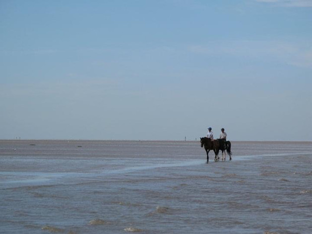 Horseriders, Old Hunstanton beach