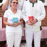 Captains Day 2021  2 Jacks Challenge Winners Tina Barefield, Ivor Powell & Steve Bone