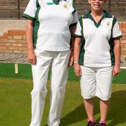 WEBC 2021 - Ladies Singles Finalist - Sue Browning & Tina Barefield