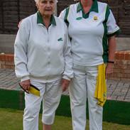 WEBC 2021 - Ladies Pairs Champions - Colleen Shambrook & Sue Browning