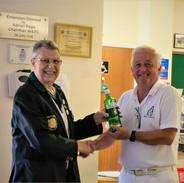 Steve Brierley & Dave Browning Winner of spider President's Day 2021