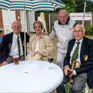 Ex Presidents of WEBC Derek Porter with wife Betty, Trevor Lofty & Bob Smith 2021