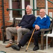 Captains' Day 2021 Dave Turner & Bob Smith