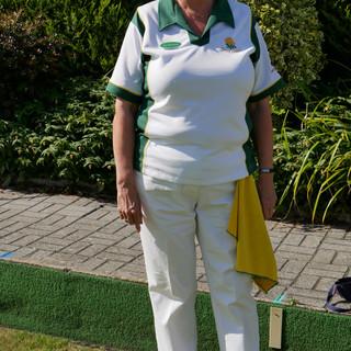 Winner of Ladies Singles 2019 - Sue Brow