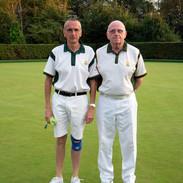 WEBC 2021 - Men's Pairs Champions - Brian Barefield & Steve Bone