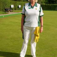 WEBC 2021 - Ladies Singles Champion - Sue Browning