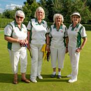 WEBC 2021 - Ladies Pairs Finalist - Colleen Shambrook & Sue Browning, Marilyn Humphreys & Jan Bonny