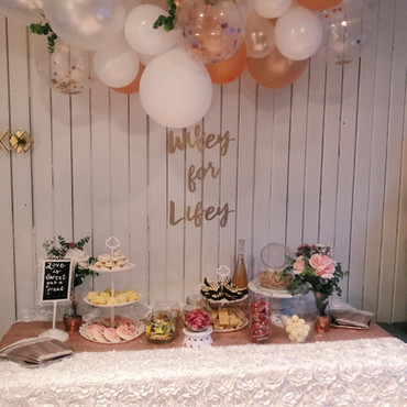 Wifey For Lifey, Bachlorette Treat Table