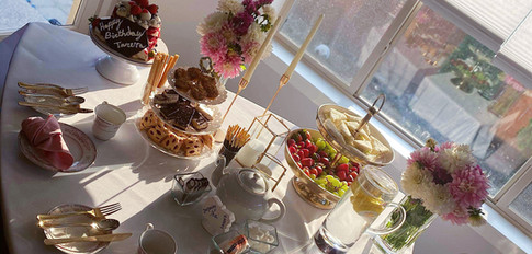 Birthday Afternoon Tea Party