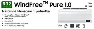 Klimatizace Samsung WindFree Pure 1,0