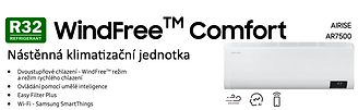Klimatizace Samsung WindFree Comfort