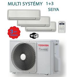 Toshiba Multi 1+3 SEIYA