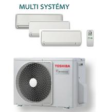 Toshiba klimatizace Multi systémy