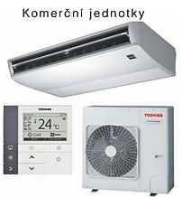 Toshiba klimatizace Komerční jednotky