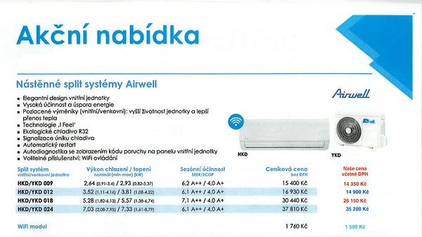 Airwell akce Klimatizace Maletínský