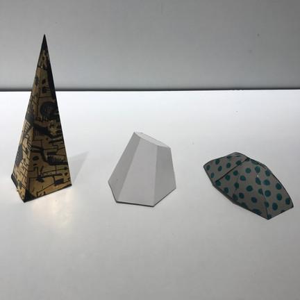 TRIANGULATED PAPER MODELS