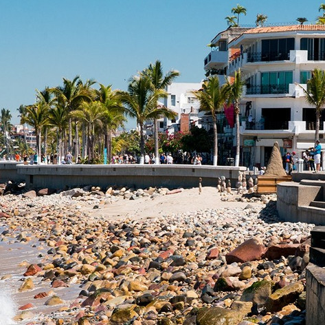 Puerto Vallarta Malecon (boardwalk)