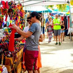 La Cruz Sunday market