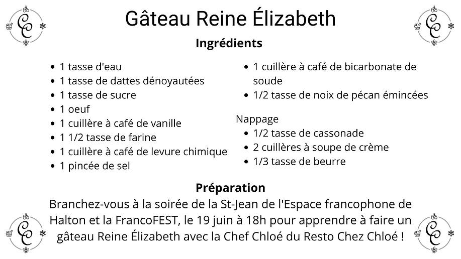 Ingrédients Gâteau reine Élizabeth (1).p