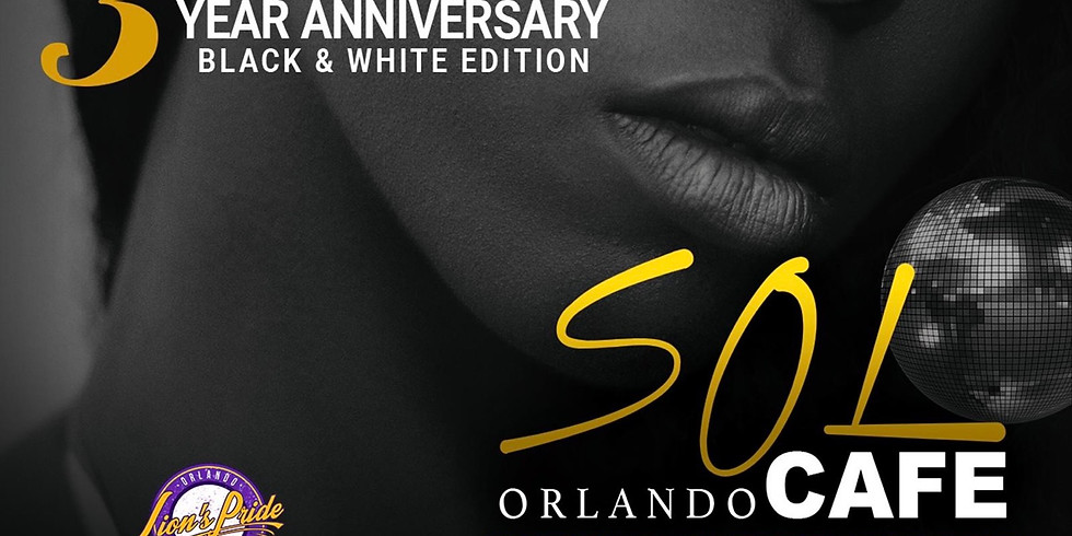 Sol Cafe - 3 Year Anniversary - October 20th