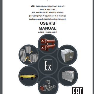 User's manual: Explosion-proof heater