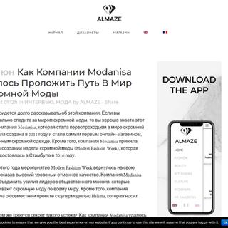Almaze - Modest Fashion Magazine