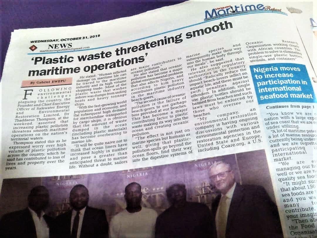 Plastic Waste Threatening Smooth Maritim