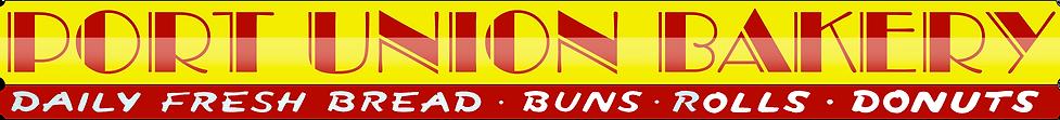 Port Union Bakery sign