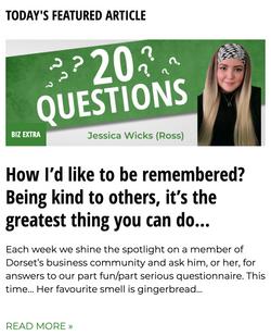 20 Questions Dorset Biz News