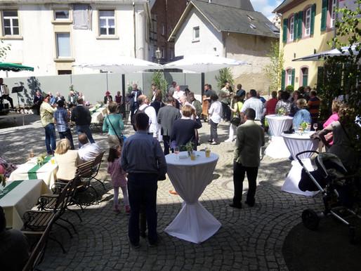 """...die neue Perle """"Recepturhof"""" in der Kronberger Altstadt!"""