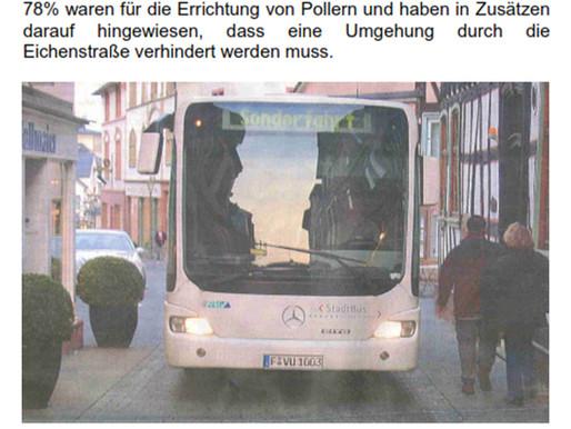 """...immer noch das Thema """"Stadtbus durch die Altstadt"""""""