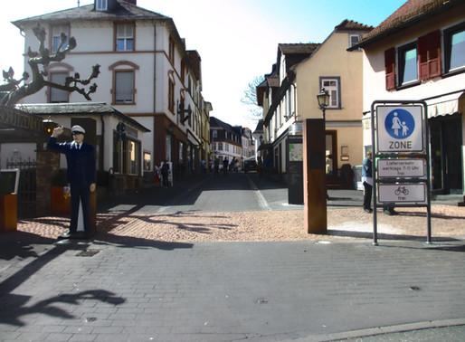 ... die neue Fußgängerzone in der Altstadt