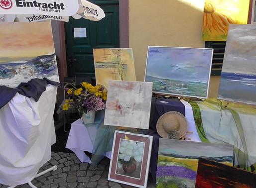 ...der Kunst- und Weinmarkt