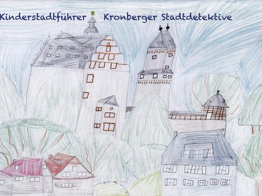"""…der neue Kinderstadtführer  """"Kronberger Stadtdetektive""""!"""