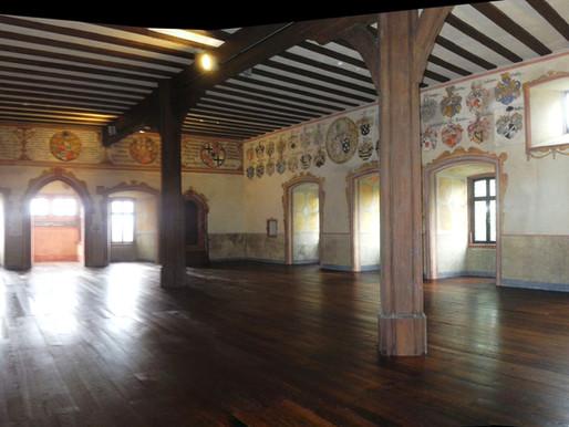 ...der Wappensaal in der Kronberger Burg