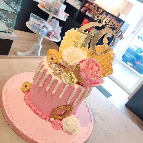 Pretty Drip Cake in Liverpool