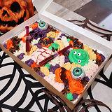 Halloween traybake