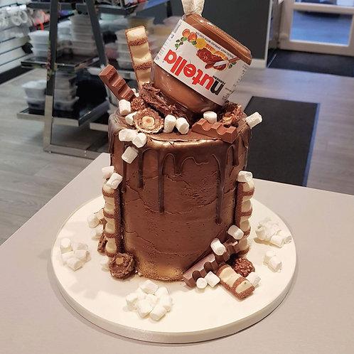 Nutella Drip Cake in Liverpool