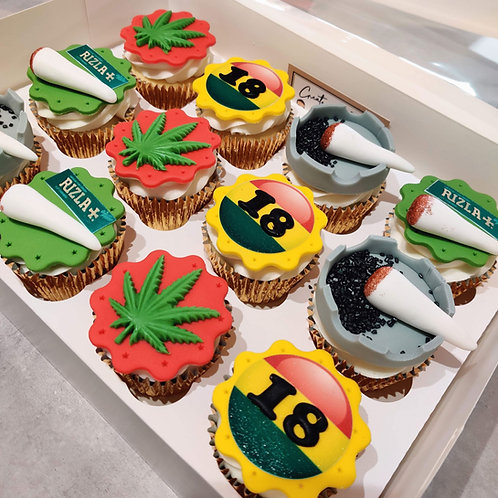 Weed Cupcakes in Liverpool