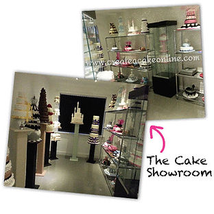 Wedding cakes on display in Liverpool