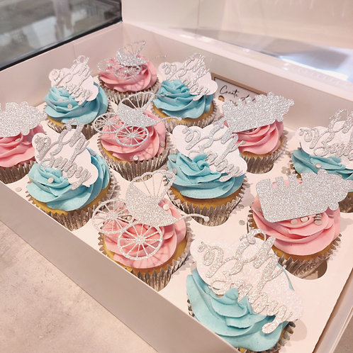 Baby Shower Cupcakes in Liverpool