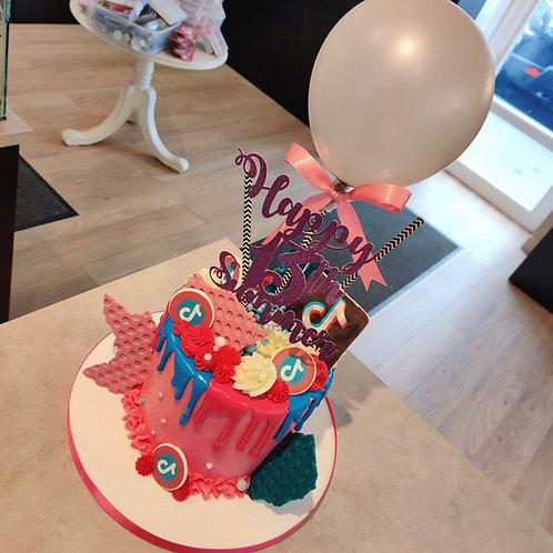 Tiktok cake in Liverpool