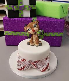 Christmas Reindeer Cake class