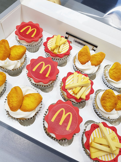 McDonalds cupcakes in Liverpool