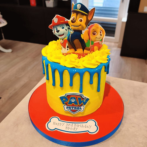 Paw Patrol Cake in Liverpool