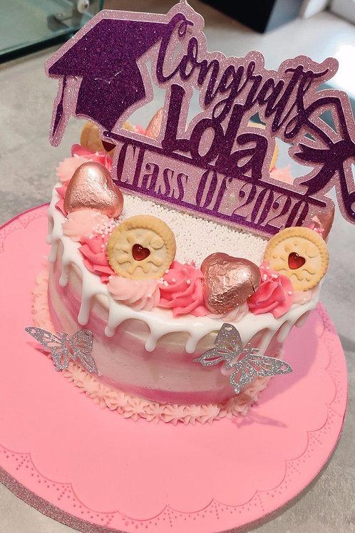Graduation cake in Liverpool